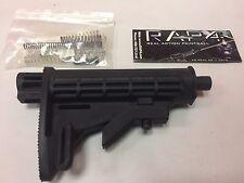 Rap4 Spyder Collapsible Car Stock Tactical Velocity Spring Kit Paintball Gun M4s