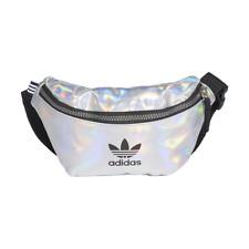 adidas Waistbag Silver Metallic Iridescent Gürteltasche Bauchtasche Silber