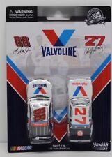 Cale Yarborough 1982 Valvoline & Dale Earnhardt Jr 2015 Valvoline 2 Pack 1/64