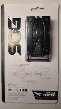 SOG Sync I (1) Traveler Multi-Tool Belt Buckle - Black