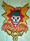 MACV-SOG - Patch - US MILITARY ASSISTANCE ADVISORY - SAIGON - Vietnam War - 2742