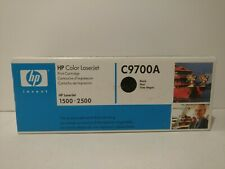 HP Black Toner Print Cartridge C9700A
