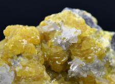 Soufre & célestite - 423 grammes - Machów mine, Pologne