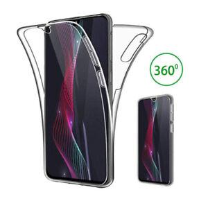 Huawei P20 / P30 / Pro / Lite FULL Hülle KLAR 360 Body Cover Case Handy Schutz