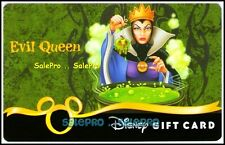 DISNEY 2009 USA HORROR NEGATIVE CHARACTORS * EVIL QUEEN * COLLECTIBLE GIFT CARD