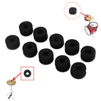 10x Drum Kit Cymbal Felt Pads Percussion Accessory Kit Pad Protection Effect