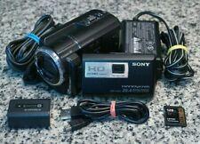 Sony HDR-PJ600 Full HD 1080p 220GB HDD Handycam 12x W/ Extras 128GB SD Tested FS