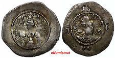 Sasanian Empire, KHUSRU I , 531-579 A.D. AR Drachm Year 36, 31mm 4,02 g. WYH