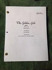 The Golden Girls Pilot Script Final Draft 4/12/85 BETTY WHITE. BEA ARTHUR