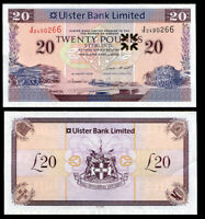 NORTHERN IRELAND 20 POUNDS 2008 ULSTER BANK AU-UNC