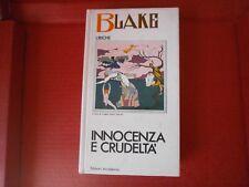 """Blake William """"Innocenza e crudeltà"""" – Accademia, 1976"""