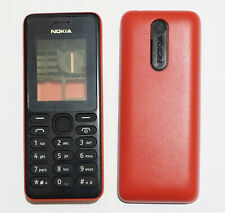 red cell mobile Housing Cover Case Fascia skin Faceplate for Nokia 108 red