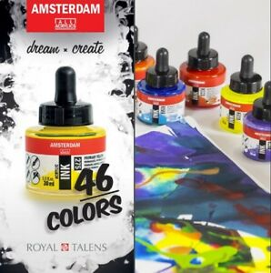 Royal Talens Amsterdam Acrylic Ink