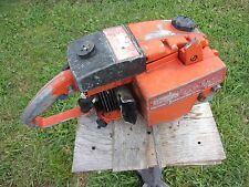"Vtg Antique Dayton Chainsaw 17"" Model 2Z461 Parts or Repair Chain Saw Power Head"