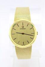 Klassische Omega VOLLGOLD 14K / 585 Cal. Kal. 620 Herren Uhr 60-70er watch TOP