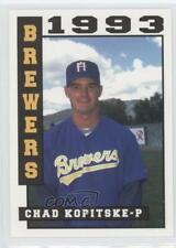 1993 Sport Pro Helena Brewers Chad Kopitzke #21