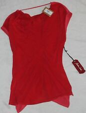 WOMEN'S BARBARA LESSER SHORT SLEEVE SHIRT~ SIZE S~ NWT~RETAILS FOR 98.00~NICE!