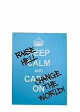 Windhorse Raise Hell and Change The World Fridge Magnet