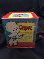 Mattel Pop Up Casper The Friendly Ghost and Harvey Cartoon Characters Music Box