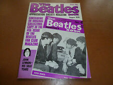 THE BEATLES BOOK MONTHLY APPRECIATION Magazine No 4 August 1976 RARE