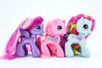 My Little Pony G3.5 2009 Sparkly Ponies Star Song Pinkie Pie Rainbow Dash