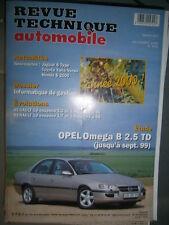 Opel OMEGA B 2.5 TD : revue technique RTA 623