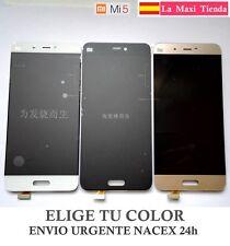 "Ecran Complet ""Xiaomi Mi5"" Noire Blanc Doré (Lcd + Tactile) Verre Mi 5"