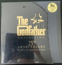 The GODFATHER COLLECTION-25TH ANNIVERSARY 3-LASERDISC BOX SET-WS-THX-DD-SEALED