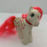 My Little Pony G1 Vintage SUGARBERRY Twice As Fancy 1987 Dirty Girl Needs Love