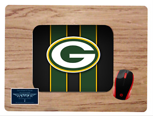 GREEN BAY PACKERS AMERICAN FOOTBALL CUSTOM MOUSE PAD DESK MAT HOME SCHOOL GIFT
