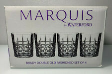Marquis By Waterford Brady Double Old Fashioned Glasses 4PC 40018563