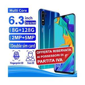 "SMARTPHONE P30 GREEN BLUE 128GB 6,3"" ANDROID DUALSIM FINGERPRINT PER P.IVA-"