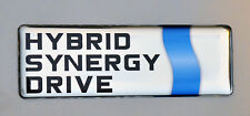 1x 3D domed Toyota Hybrid Synergy Drive Logo sticker