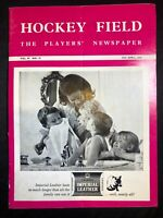 Hockey Field, The Players' Newspaper, 1968, vintage, Australia, sports, collect
