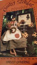 "Craft Pattern Harvest Gathering 19 "" Doll"