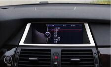 Interior Dashboard GPS Navigation decoration trim cover For BMW X5 E70 2009-2013