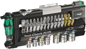 Wera 05056490001 Tool-Check PLUS Bit-Sortiment Ratsche Handhalter 39-teilig