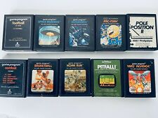 10 Tested Atari 2600 Games Pac-Man Asteroids Pole Position Space Invaders