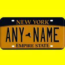 Bicycle license plate - New York design, new custom personalized, any name