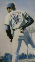 VINTAGE 1986 Doc Dwight Gooden LIMITED PRINT By Jack Lane NY METS WORLD SERIES