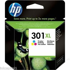 N ° 301xl Color Original Oem Cartucho De Tinta Para Hp Deskjet 1050