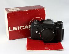Leica Leicaflex SL, black chrome, #1237081, with original instruction manual