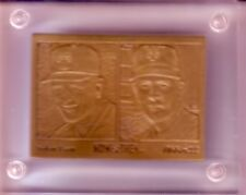 NOLAN RYAN Highland Mint BRONZE CARD and COA