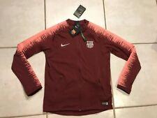 NWT NIKE FC Barcelona 2018/2019 Maroon Anthem Jacket Youth XL 894412 MSRP $105
