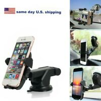 360° Car  Windshield Mount Holder for Cell Phone GPS iPhone Samsung S9