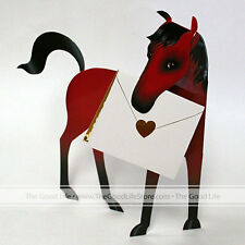 """3D Special Delivery Greeting Card - Horse """"Chestnut"""" - SD-049"""