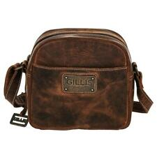 Gillis Leather Camera Case Shoulder Bag Trafalgar Micro Vintage Braun Buffalo