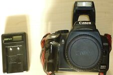 Canon EOS 350D Digital SLR Camera - Black (Body Only) Faulty + USB charger
