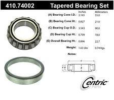 Wheel Bearing and Race Set-Premium Bearings Centric 410.74002