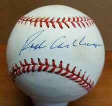RICHIE ASHBURN Autograph Rawlings Official National League Baseball